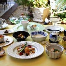 自家製ゆばをアレンジした京料理