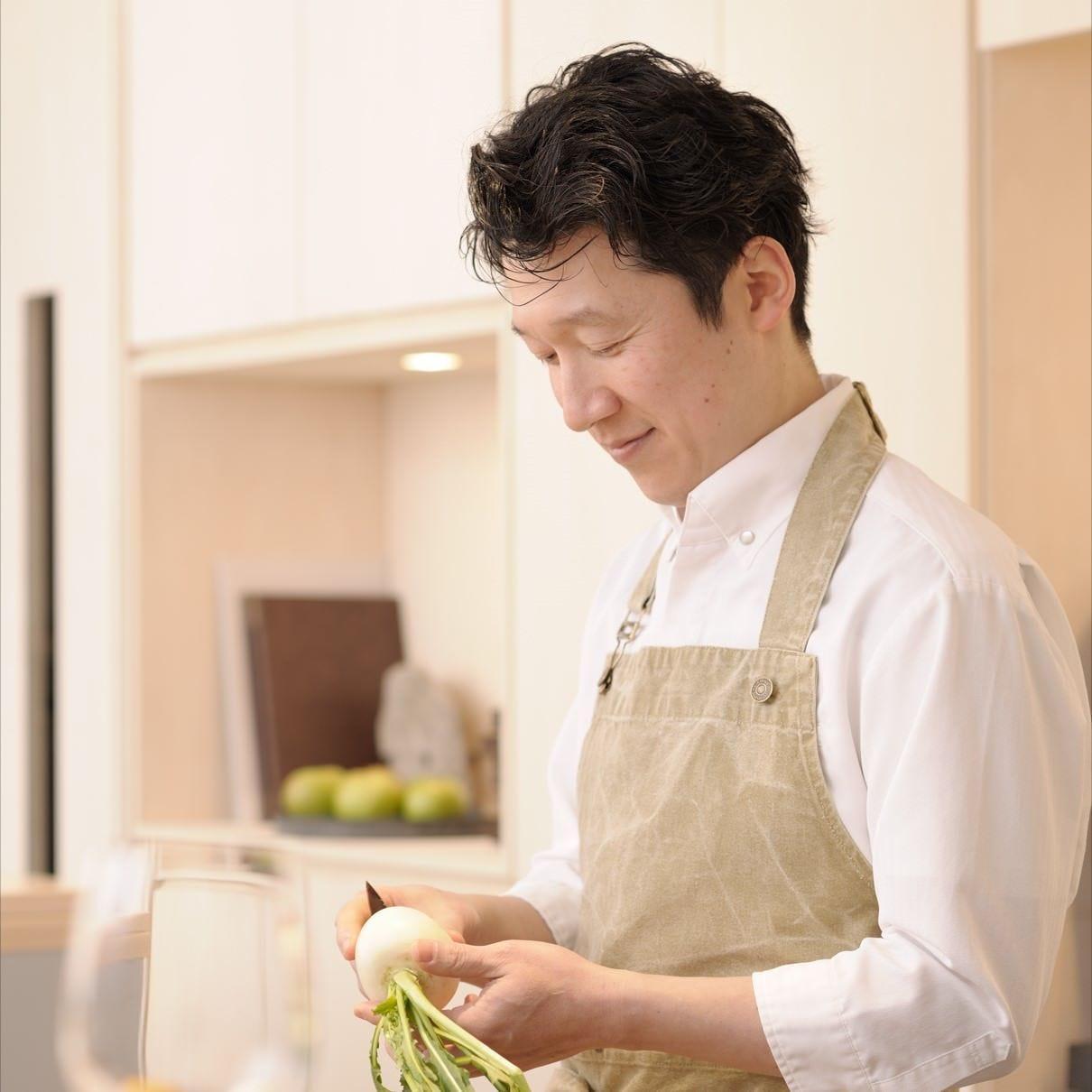 【料理人】シェフ:横須賀 雅明