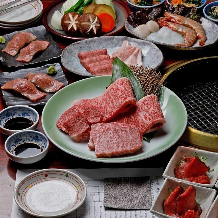 忘年会や記念日に最適な焼肉コースは5,000円(税抜)~