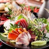 その日仕入れた新鮮な食材をご提供しております!