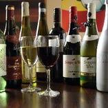 スペイン産を中心に赤・白・スパークリングワインなどをご用意しております!