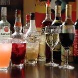 多彩な飲み放題プランはご予約なしでご利用いただけます♪
