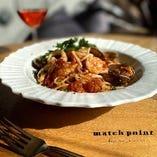 魚介のトマトソーススパゲッティー