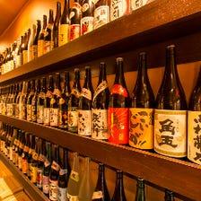焼酎・日本酒・梅酒など旨い酒200種