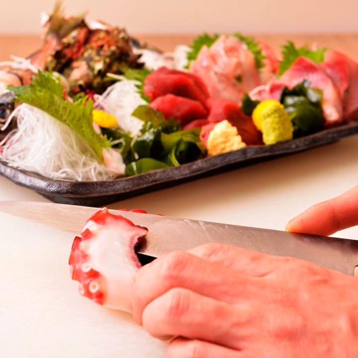 四季折々旬の鮮魚を楽しめるお店♪