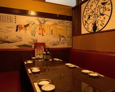 完全個室×中華食べ放題 香港美食園 人形町店 店内の画像