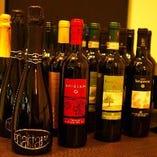数多いワインを取り揃えております!