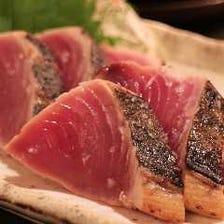 新鮮な魚介を味わえます