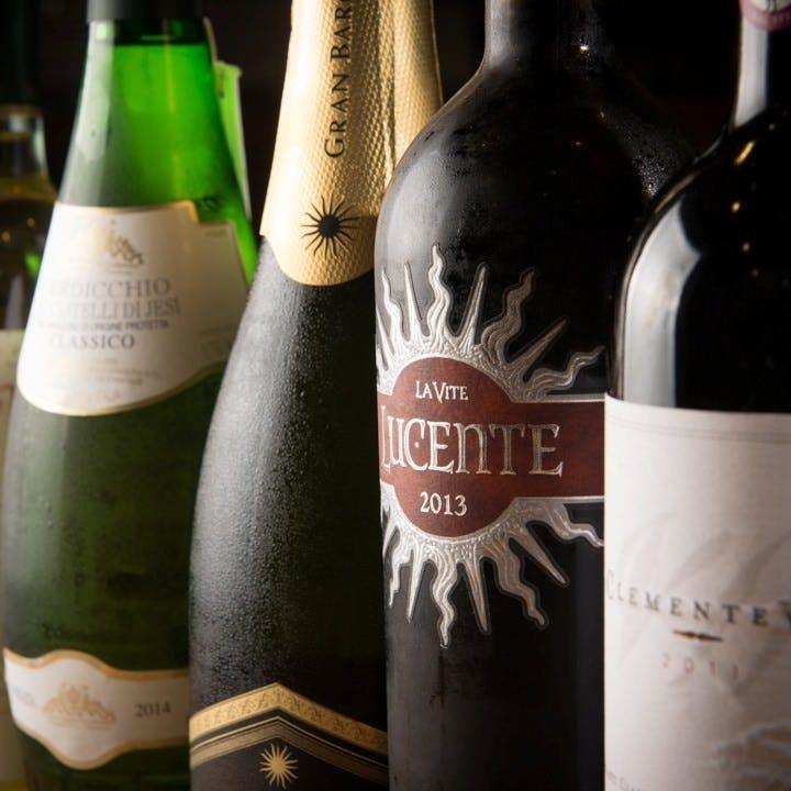 夜はワイン♪お酒と楽しむイタリアン
