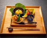 『お昼の前菜盛合せ 』お昼のご予約も承っております。
