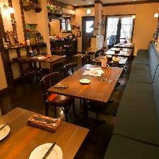 レトロ感溢れるアットホームな洋食店