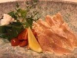 笹身サラダ