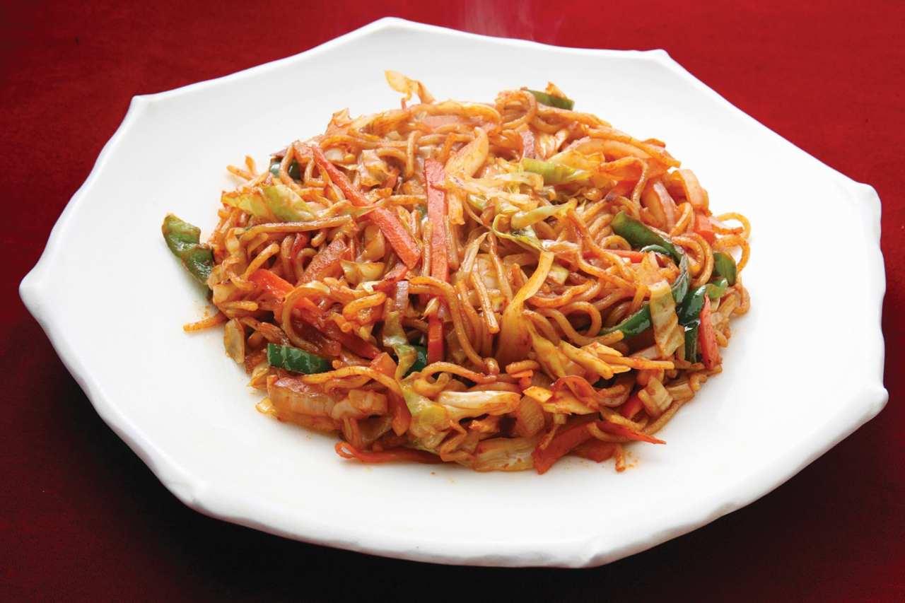 アジアン料理の数々