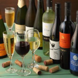ビールやワインなどお食事と相性のよいお飲み物を豊富にご用意!
