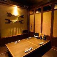 個室空間 湯葉豆富料理 千年の宴 三河安城駅前店 店内の画像