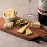 4種のチーズ盛合せ