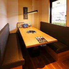 テーブル個室もあります!