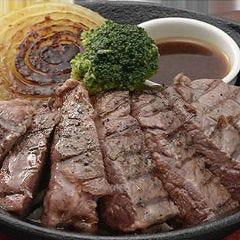 肉の旨み&食べごたえ格別!牛ロースステーキ(120g)
