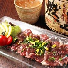 【栄養豊富!】鹿肉料理を堪能!