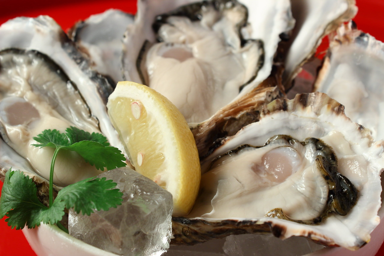 クリーミーな生牡蠣