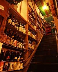 焼酎、地酒、梅酒、ワインと 豊富に取り揃えています。