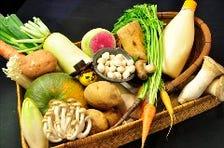 新鮮ホルモンと季節野菜を召し上がれ