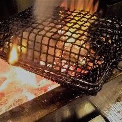 地鶏の炭火炙り