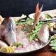 海鮮各種。新鮮なお魚料理がおすすめ