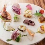 淡路島食材を美味しく、美しく、健やかに生かしたアンティパスト