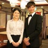 [接客・サービス] 中国人スタッフの笑顔と異国情緒溢れる接客♪
