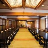 大切な方を招待するのに最適な豪華な個室(テーブル席)