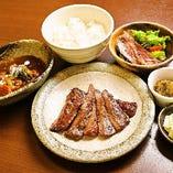 牛タン焼き&ハーフシチューセット お弁当