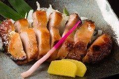 若鳥の一枚もも肉の西京焼き