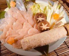 白湯スープDE鶏しゃぶしゃぶ