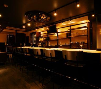 肉寿司 イタリアンバル 自称 心斎橋店  店内の画像