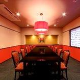 【優雅な個室】 趣の異なる大小様々な個室を完備◎接待や宴会に