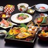 【彩り会席】 金沢の四季を映す会席料理は毎月内容を変えて提供