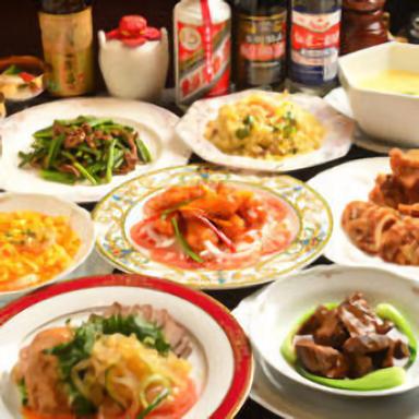シーンに合わせて選べる本格中国料理