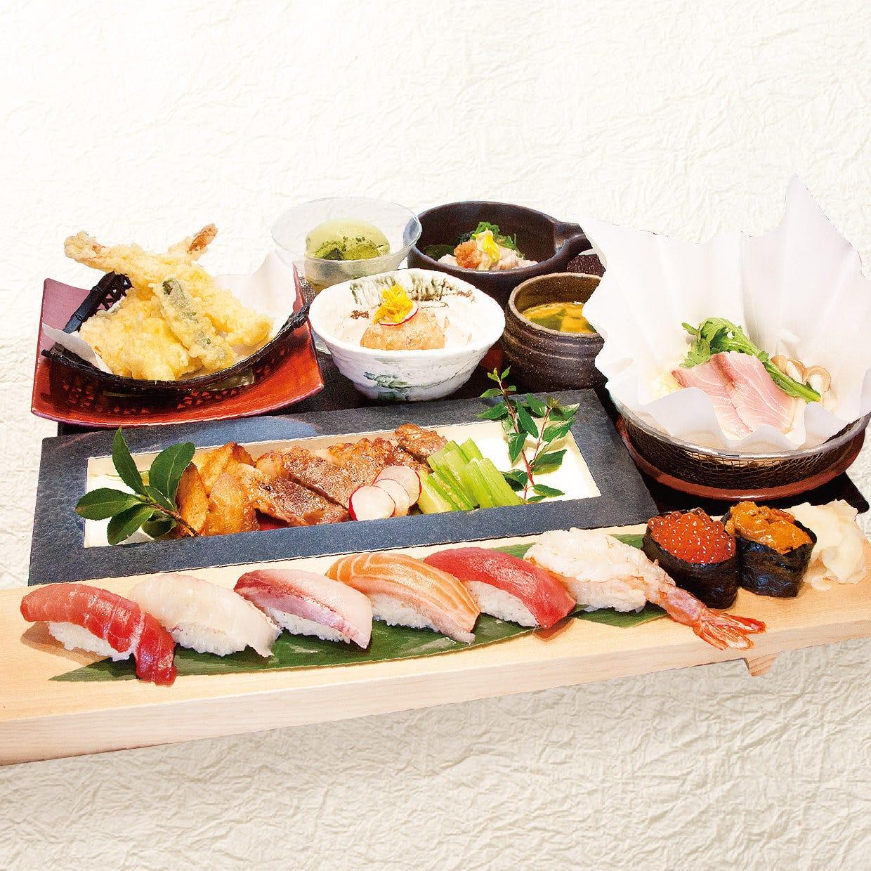【個室+個別盛り】特選御膳 お料理のみ4000円