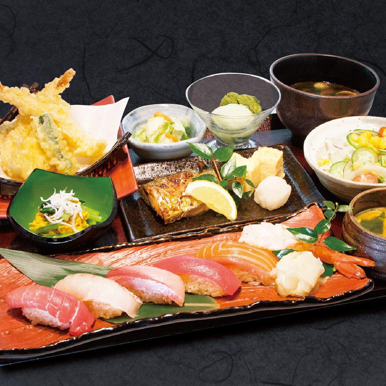【個室+個別盛り】鮨御膳 お料理のみ2500円