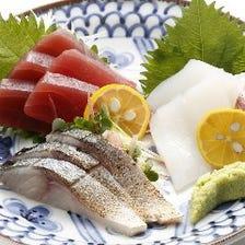 新鮮鮮魚が自慢・・・