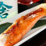 ● 釧路沖産・鮭(ハラス)の炙り焼き ●