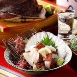 ● 北海道 ・根室産 真蛸の頭のぶつ刺し ●