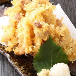 ● 手作り 地豚の香味天ぷら