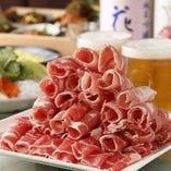 ● 特選ラムしゃぶセット【ラム肉・野菜盛り合わせ付き】