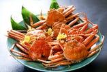 福井の地魚お造りセット+せいこ蟹