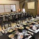 40名様収容テーブル椅子・座敷個室