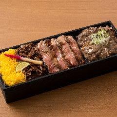【西武催事で大人気】若狭牛ステーキしぐれ焼しゃぶ食べ比べ膳