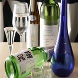 日本酒を楽しむ◎ 香りを楽しむ為にワイングラスでご提供!