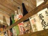 梅酒・日本酒・泡盛もいろいろご用意しています!!
